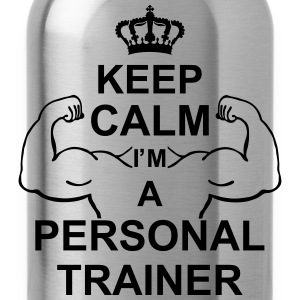 keep_calm_im_a_personal_trainer_g1 Grembiuli - Borraccia