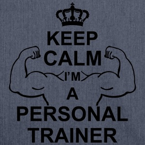 keep_calm_im_a_personal_trainer_g1 Canotte - Borsa in materiale riciclato