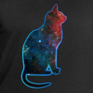 Space cat, cosmos, universe, galaxy, milky way T-Shirts - Men's Sweatshirt by Stanley & Stella