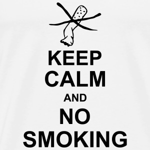 keep_calm_and_no_smoking_g1 Canotte - Maglietta Premium da uomo