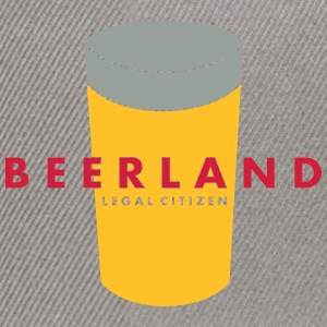 beerland x_vec_3 fr T-Shirts - Casquette snapback