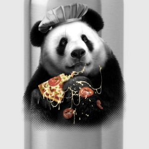 PANDA LOVES PIZZA - Water Bottle