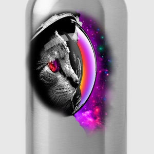 SPACECAT (CHOOSE BLACK FOR SHIRT) - Water Bottle