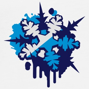 A snow crystal Graffiti  Other - Men's Premium T-Shirt