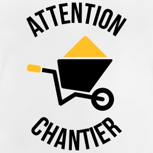 Attention Chantier Tee shirts - T-shirt Bébé