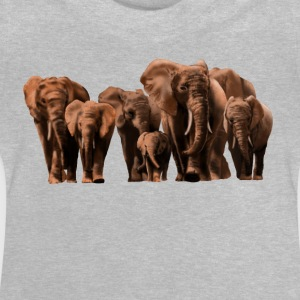 elephants T-shirts - Baby-T-shirt