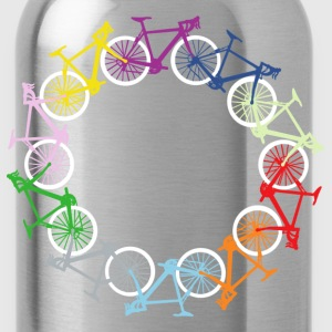 Circle of bikes T-Shirts - Water Bottle