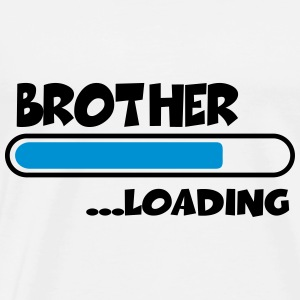 Brother loading T-shirts - Herre premium T-shirt