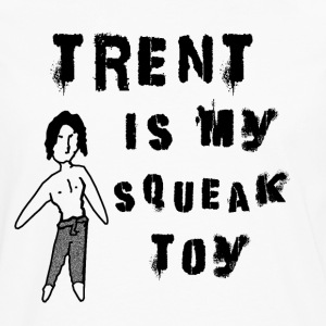 TRENT SQUEAK TOY DIGITAL  Aprons - Men's Premium Longsleeve Shirt