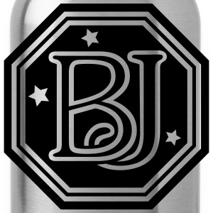 BJ  monogram initial letters T-Shirts - Water Bottle