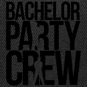 bachelor party crew T-shirts - Snapback cap