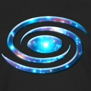 Spiral galaxy, universe, cosmos, milky way Tee shirts - T-shirt manches longues Premium Homme