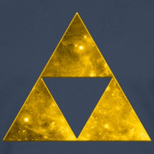 Space Triangle, Mathematics, Universe, Triforce,  Tee shirts - T-shirt manches longues Premium Homme