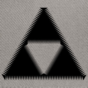 Sierpinski Triangle, Triforce, Mathematics, Shape T-shirts - Snapbackkeps