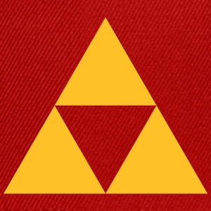 Triangle, mathematics, geometry, Triforce,  T-shirts - Snapbackkeps