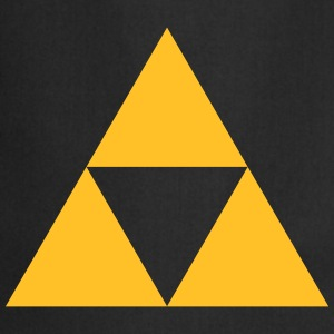 Triangle, mathematics, geometry, Triforce,  T-shirts - Forklæde