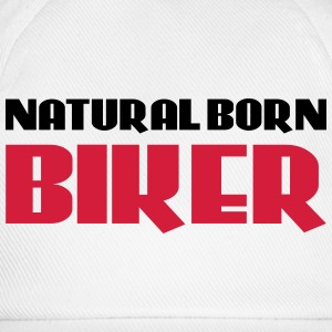 Natural born Biker T-shirts - Baseballcap