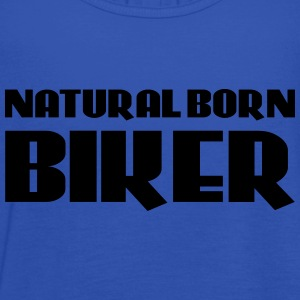 Natural born Biker Koszulki - Tank top damski Bella