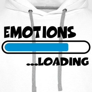 Emotions loading T-Shirts - Männer Premium Hoodie