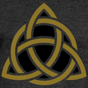 Celtic Knot, Triquetra, Patricks Day, Trinity T-Sh - Women's Boat Neck Long Sleeve Top