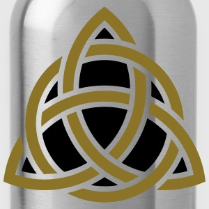 Celtic Knot, Triquetra, Patricks Day, Trinity T-Sh - Water Bottle