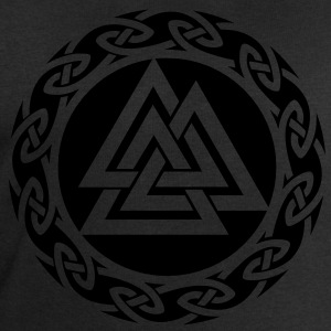 Valknut, Wotan Knot, Triforce Celtic Endless Knot  - Men's Sweatshirt by Stanley & Stella