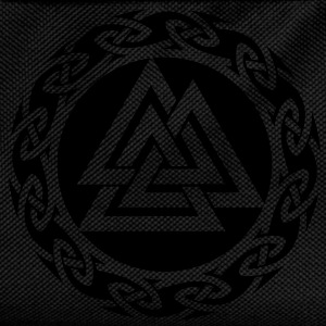 Valknut, Wotan Knot, Triforce Celtic Endless Knot  - Kids' Backpack