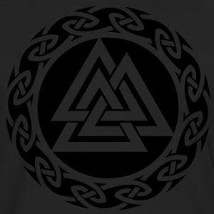 Valknut, Wotan Knot, Triforce Celtic Endless Knot  - Men's Premium Longsleeve Shirt