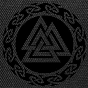 Valknut, Wotan Knot, Triforce Celtic Endless Knot  - Snapback Cap