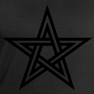 Pentagram, Glow in the dark, five star, magic,  Camisetas - Sudadera hombre de Stanley & Stella