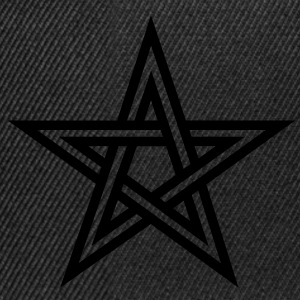 Pentagram, Glow in the dark, five star, magic,  Camisetas - Gorra Snapback