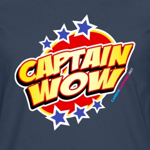 Captain Wow - Men's Premium Longsleeve Shirt
