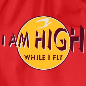 i am high x_vec_3 it Magliette - Sacca sportiva