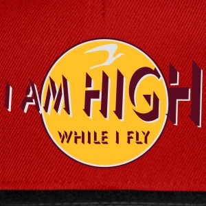 i am high x_vec_3 fr Tee shirts - Casquette snapback