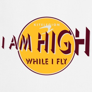 i am high_vec_3 fr Tee shirts - Tablier de cuisine