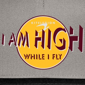 i am high_vec_3 fr Tee shirts - Casquette snapback