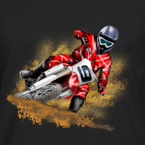 Motocross T-Shirts - Men's Premium Longsleeve Shirt
