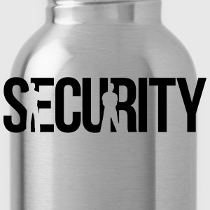 security T-Shirts - Trinkflasche