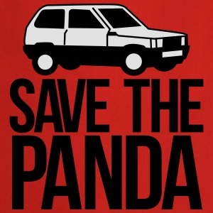save the panda T-Shirts - Cooking Apron