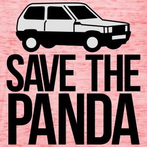 save the panda T-Shirts - Women's Tank Top by Bella