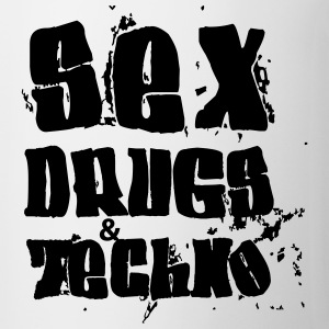 Sex Drugs and Techno Pullover & Hoodies - Tasse
