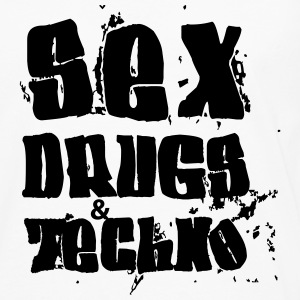 Sex Drugs and Techno Pullover & Hoodies - Männer Premium Langarmshirt