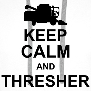 keep_calm_and_thresher_g1 T-shirts - Herre Premium hættetrøje
