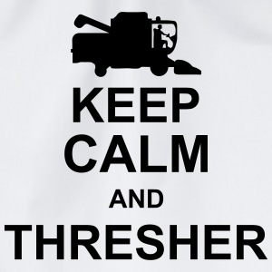 keep_calm_and_thresher_g1 Tops - Drawstring Bag