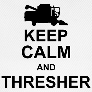 keep_calm_and_thresher_g1 Tops - Gorra béisbol