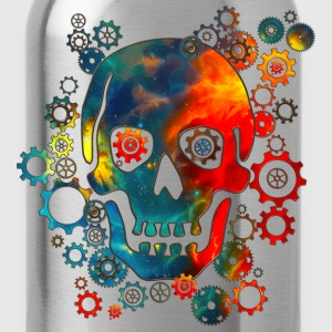 Skull, Space Pirate, Galaxy, Cosmos, Universe T-Shirts - Water Bottle