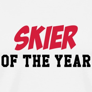 Skier of the year Kopper & tilbehør - Premium T-skjorte for menn
