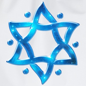 6 Point Star, Merkaba, Star of David, Hexagram, So - Turnbeutel