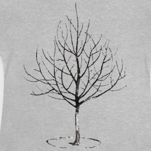 Apple Tree in Winter Camisetas - Camiseta bebé