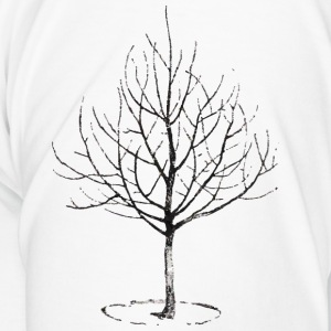 Apple Tree in Winter Mugs & Drinkware - Men's Premium T-Shirt